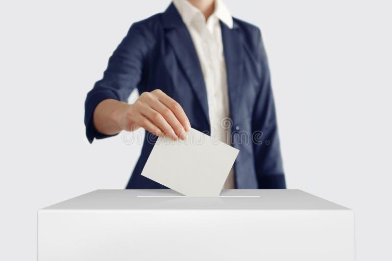 votar foto de stock