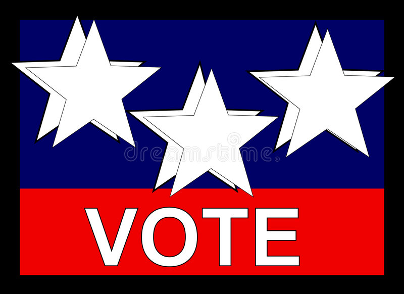 Download Vote Banner Stock Image - Image: 6682641