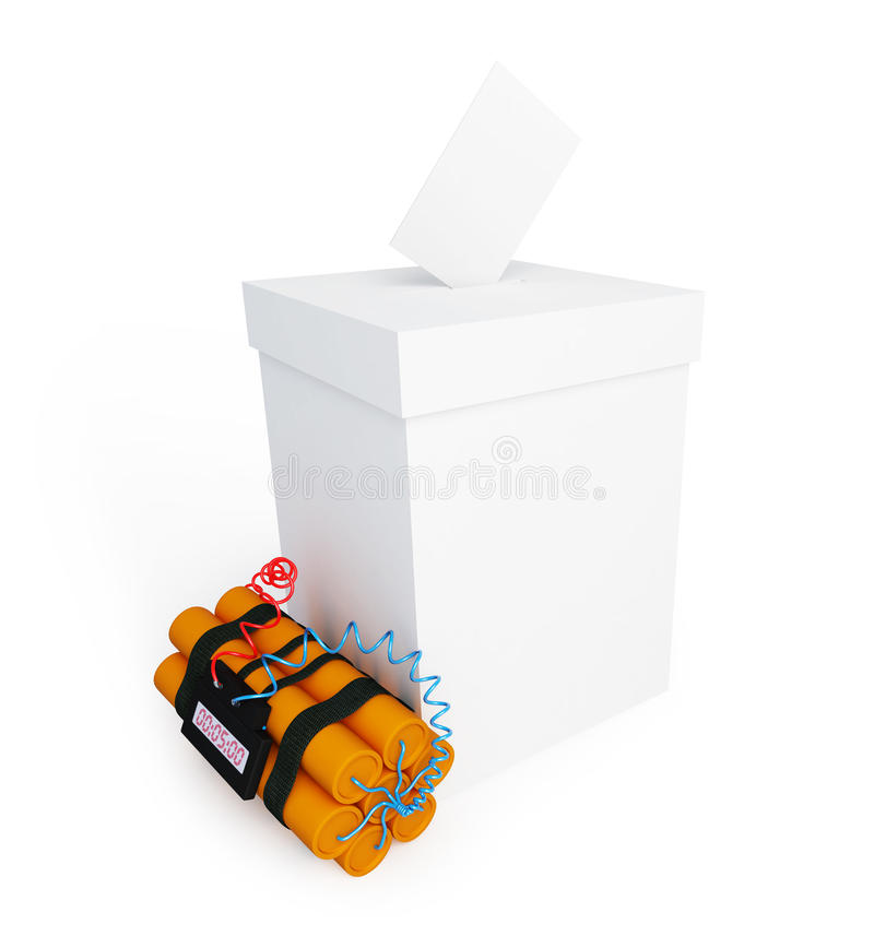 Download Vote Box Dynamite Stock Images - Image: 24627914
