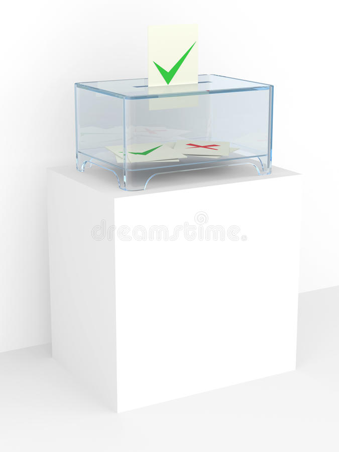 Download Vote Box In A Referendum Stock Photos - Image: 22744553