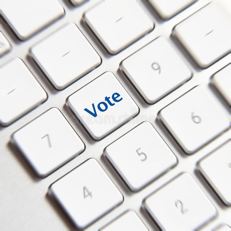 Download Vote Button stock photo. Image of vote, keyboard, network - 36271630