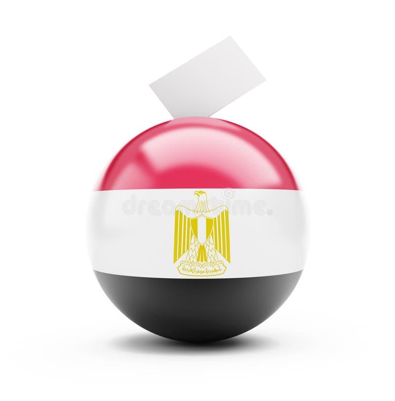 Vote de l'Egypte illustration libre de droits