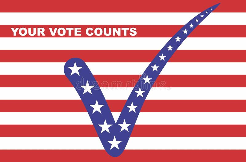 Vote stock illustration