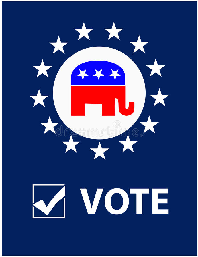 Vote Republican Placard