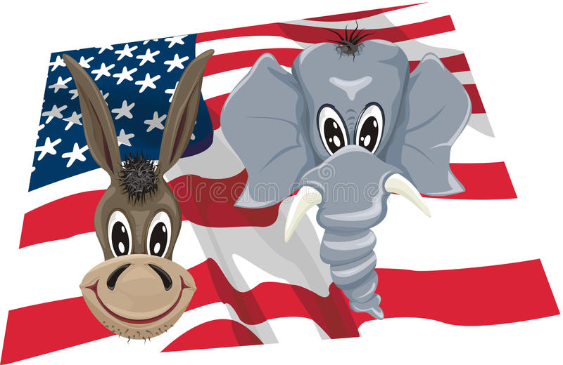 Download Vote - usa stock vector. Image of party, policy, elect - 23377082