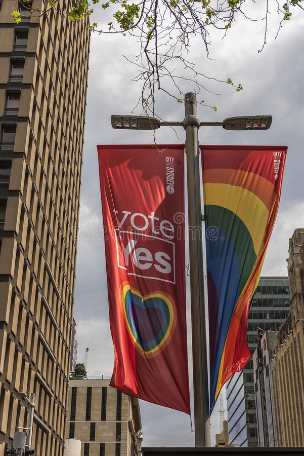 Vote YES for marriage equality royalty free stock photos