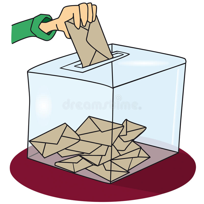Voting stock image
