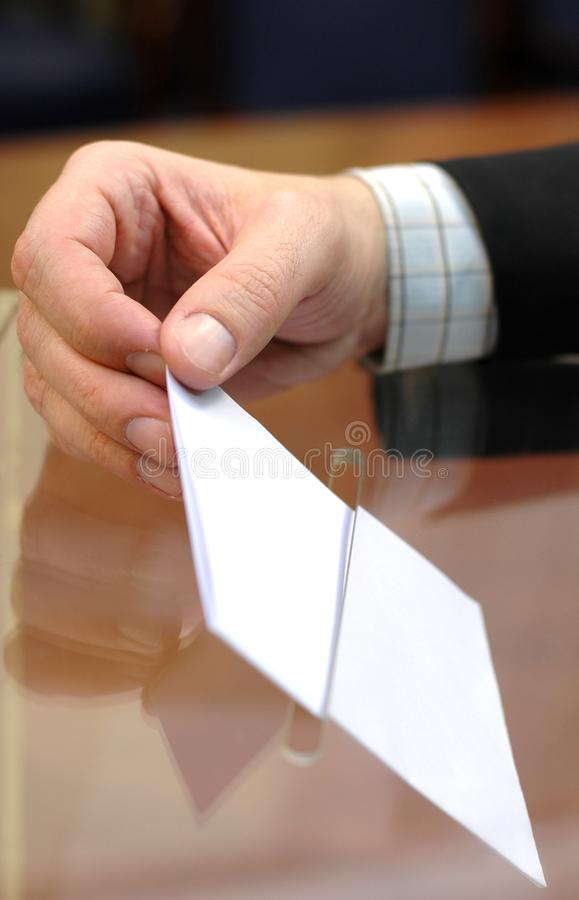 Voting , elections stock photo