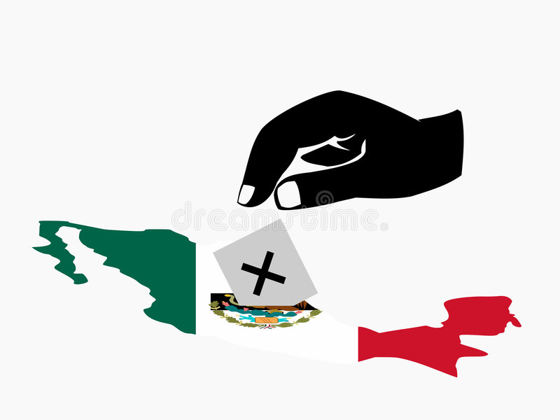 Voting In Mexican Election Royalty Free Stock Photo
