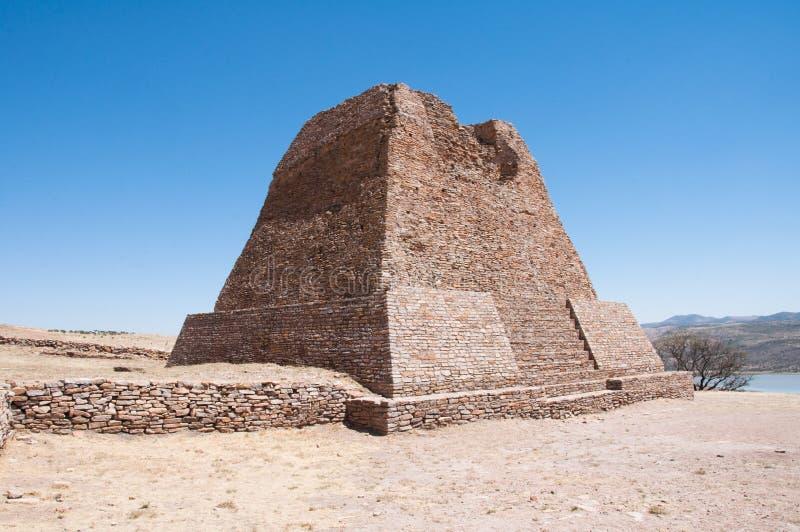 Download Votiva Pyramid, La Quemada (Mexico) Stock Image - Image: 24275483