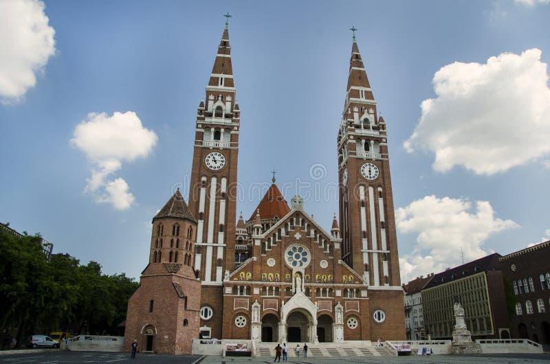 Votive εκκλησία, καθεδρικός ναός της κυρίας Ουγγαρίας μας στοκ εικόνες