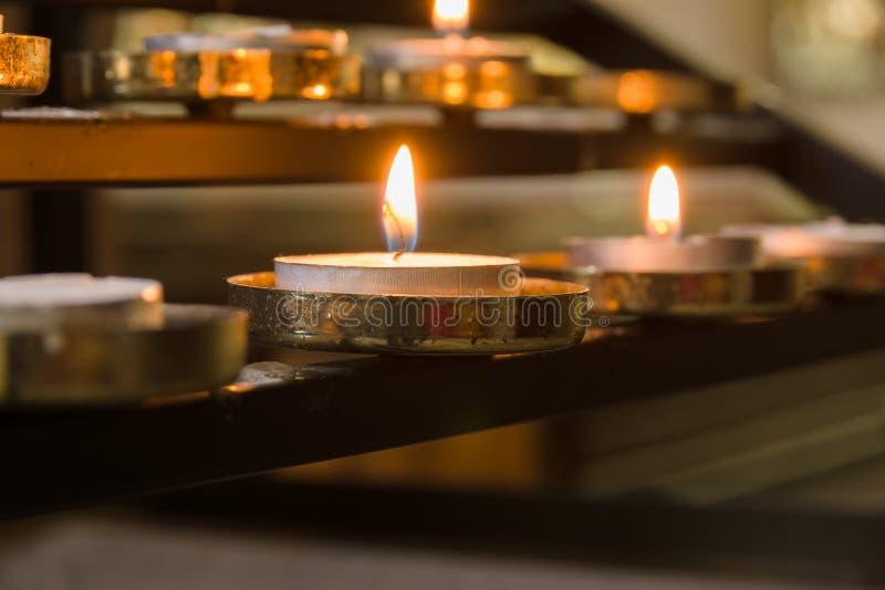 Votive Candles royalty free stock photos