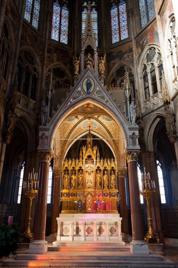 The Ring Vienna S Casual Luxury Hotel Vienna: Votive Church (Votivkirche) Stock Image