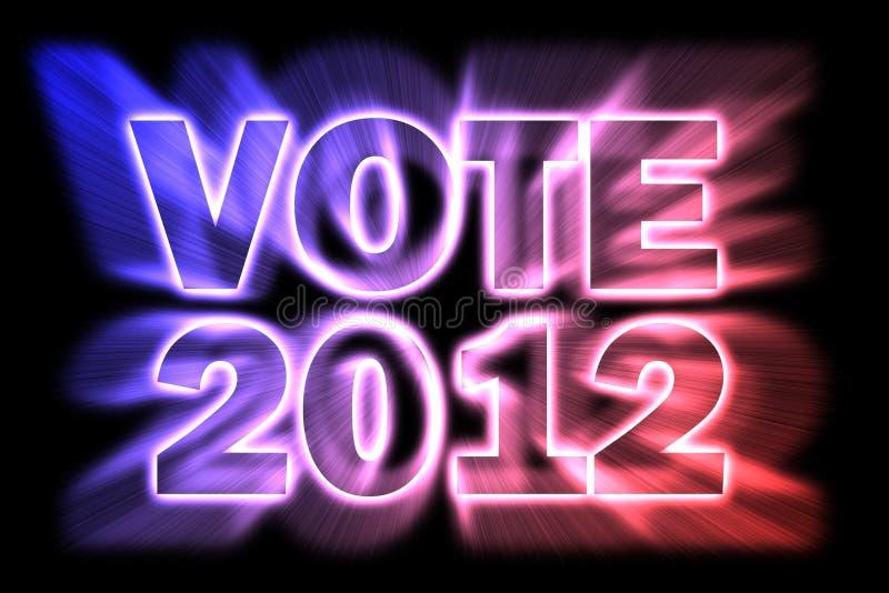 Voto 2012 foto de stock royalty free
