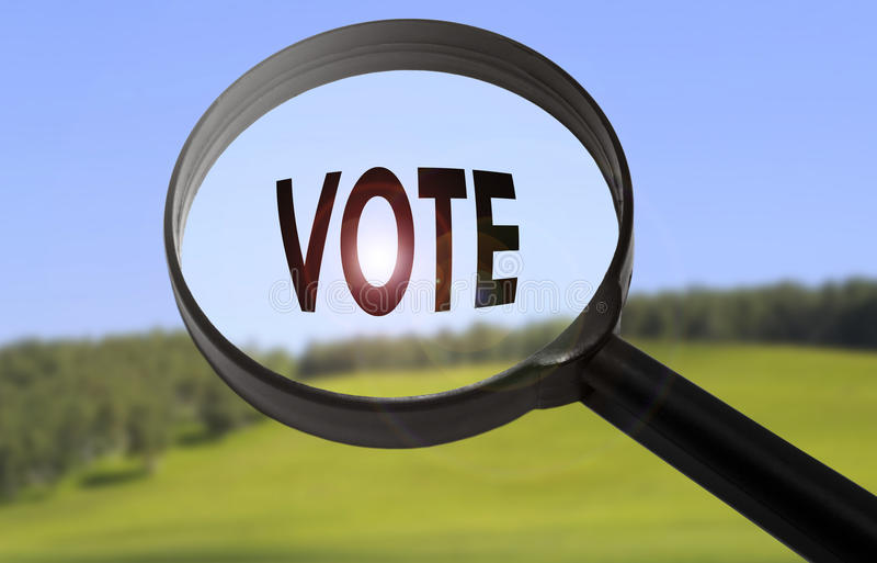 Voto immagini stock