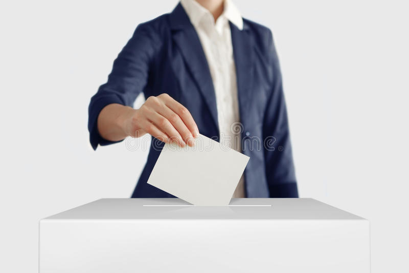 voto fotografia stock