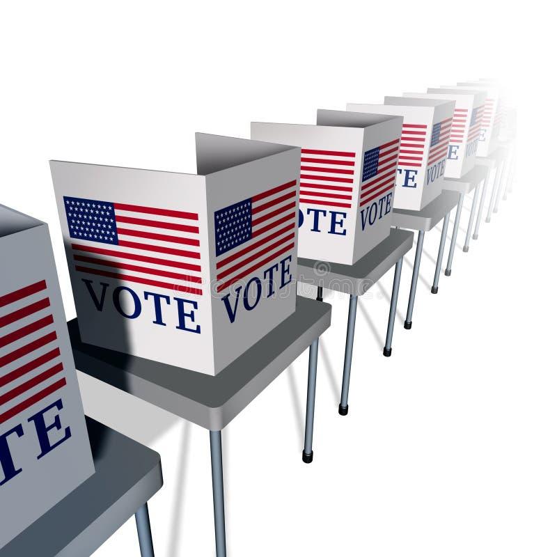 Voto di U.S.A. illustrazione vettoriale