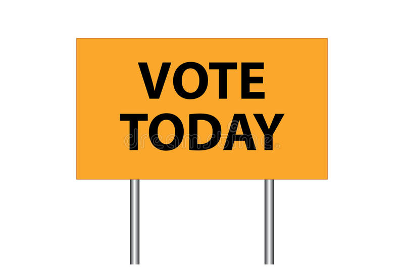 Voto hoy libre illustration