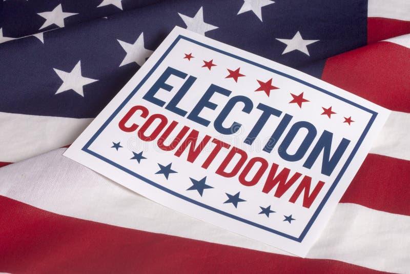 Voto presidencial de dia de eleição fotos de stock royalty free