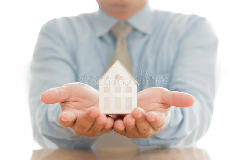 Votre nouvelle maison images libres de droits