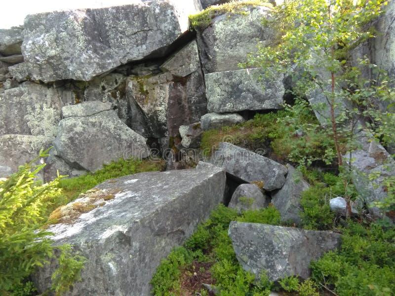 Vottovaara Karelia fotografía de archivo libre de regalías