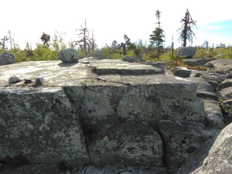 Vottovaara Karelia стоковые изображения rf