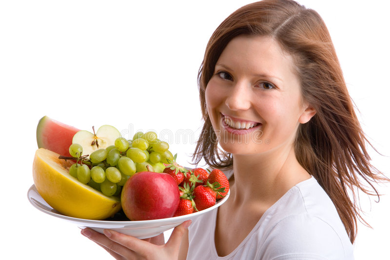 Voulez des fruits ? photographie stock