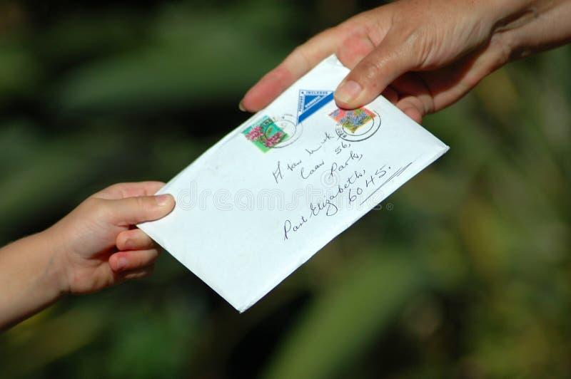 Vous avez le courrier ! image libre de droits