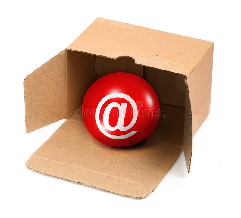 Vous avez le courrier dans une boîte photographie stock libre de droits