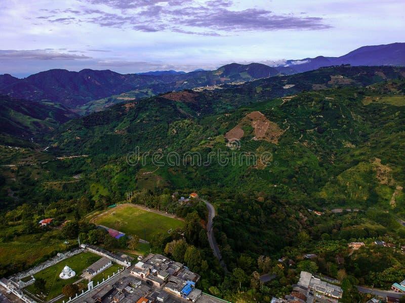 Vous connaissez des montagnes en Colombie images libres de droits