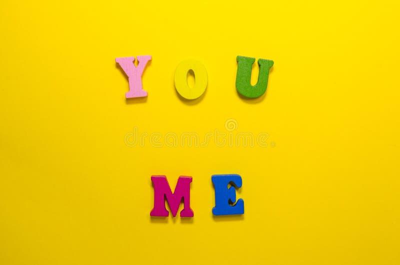 Vous et moi photos stock