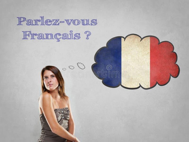 Vous parlez français photos libres de droits