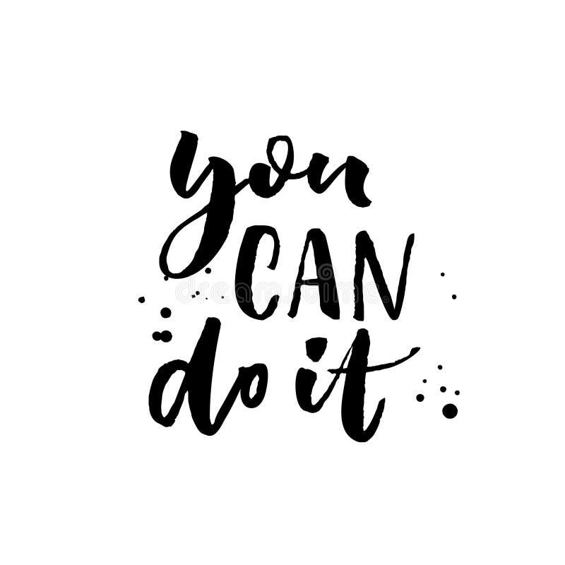 Vous pouvez la faire calligraphie de motivation de - Can font les franqueses ...