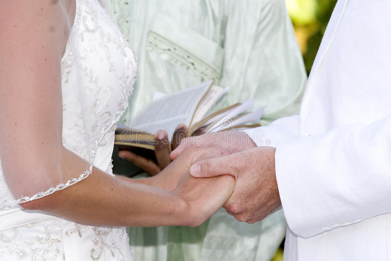 Vows of Love stock image