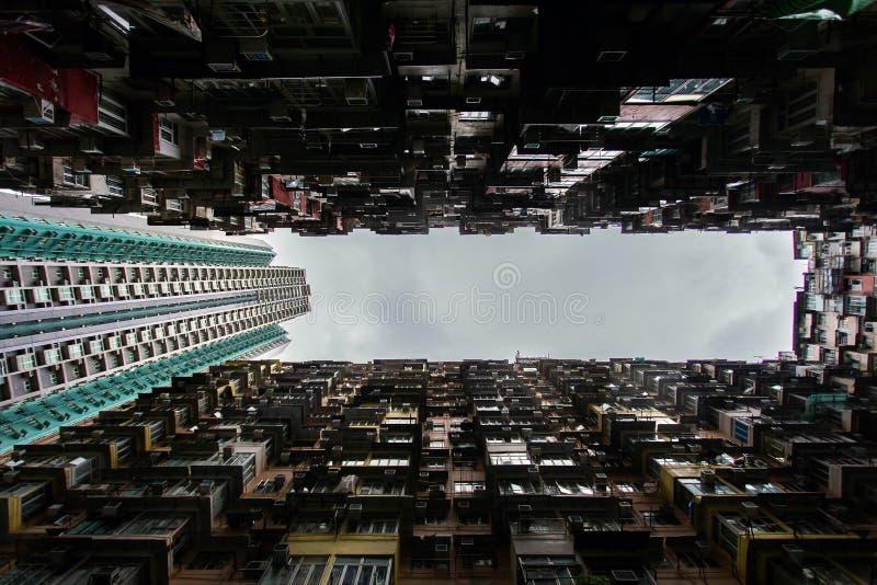 Voyage à Hong Kong Construction magnifique images libres de droits