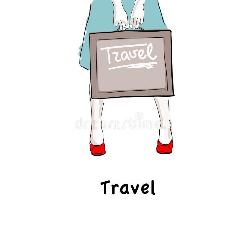 Voyage illustration libre de droits