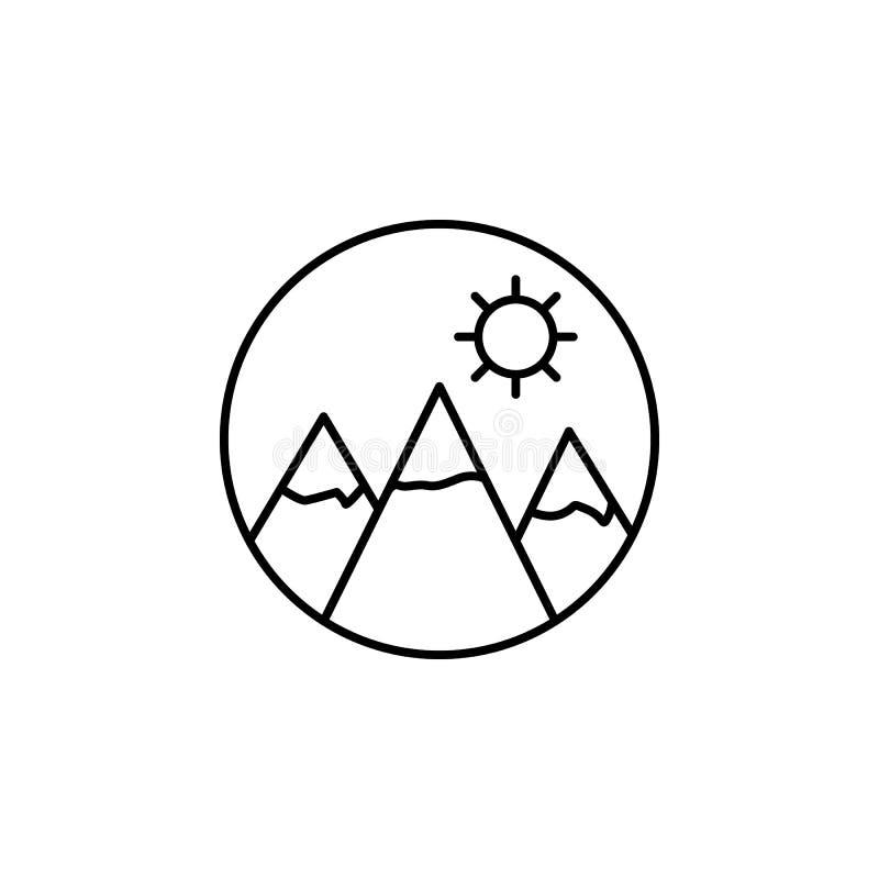 Voyage, billet, icône plate d'ensemble Élément d'illustration de voyage Des signes et l'icône de symboles peuvent être employés p illustration de vecteur