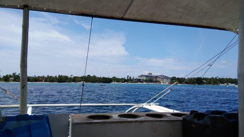 Voyage d'île en île image stock