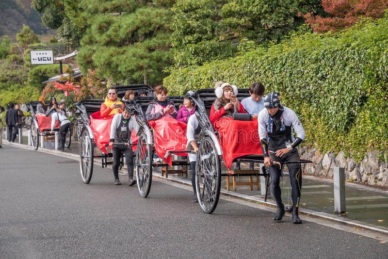 Voyage d'Arashiyama photographie stock