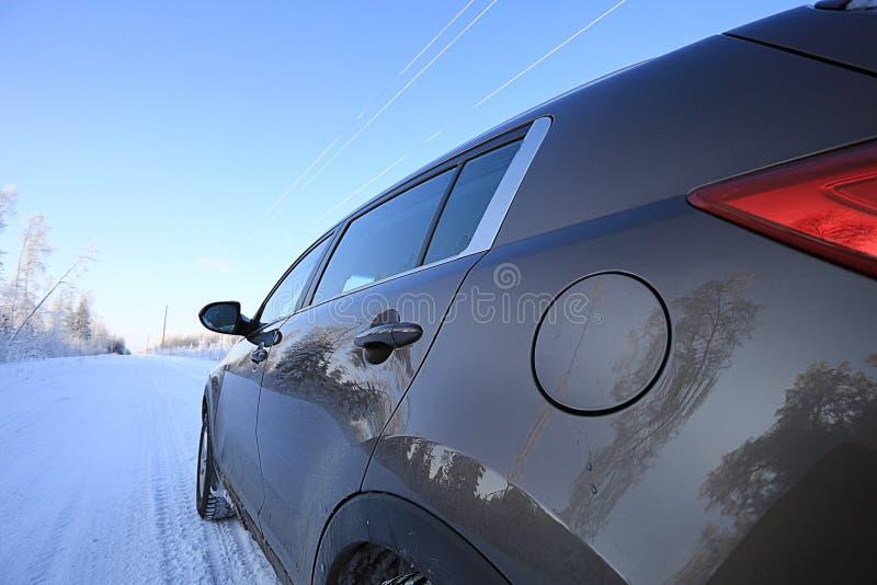 Voyage d'hiver photographie stock libre de droits