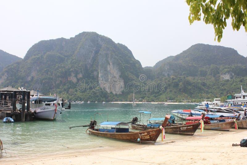 Voyage dans le krabi images stock