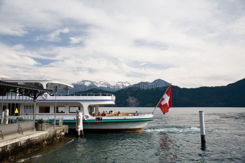 Voyage de bateau photo stock