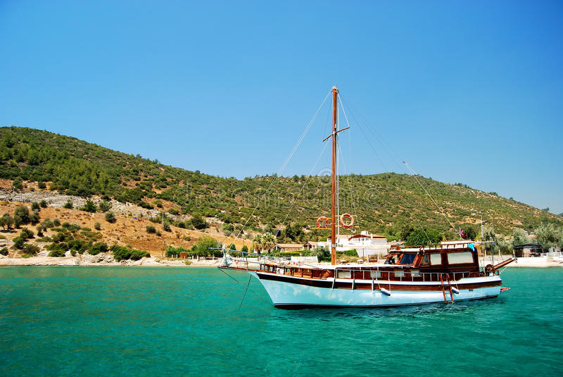 Voyage de bateau photos stock