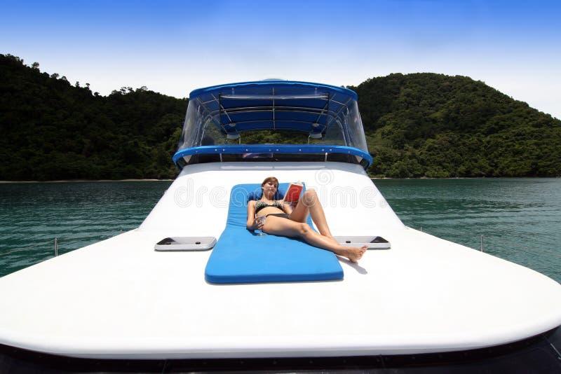voyage de bateau photo libre de droits