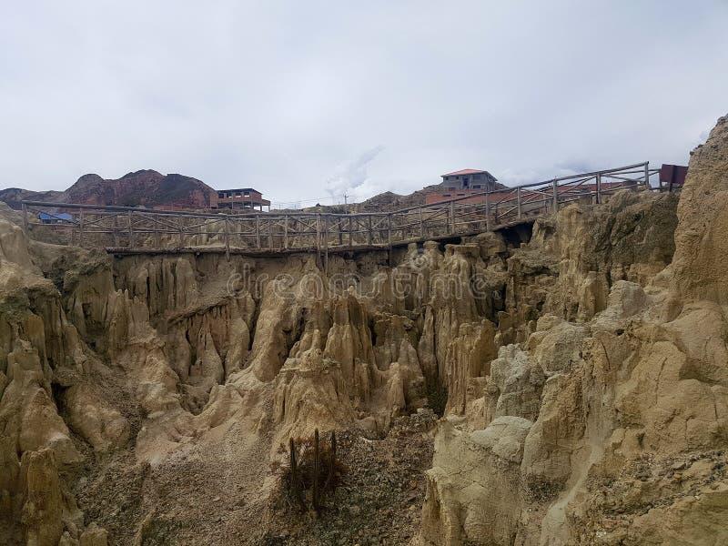 Voyage de Bolivie image libre de droits