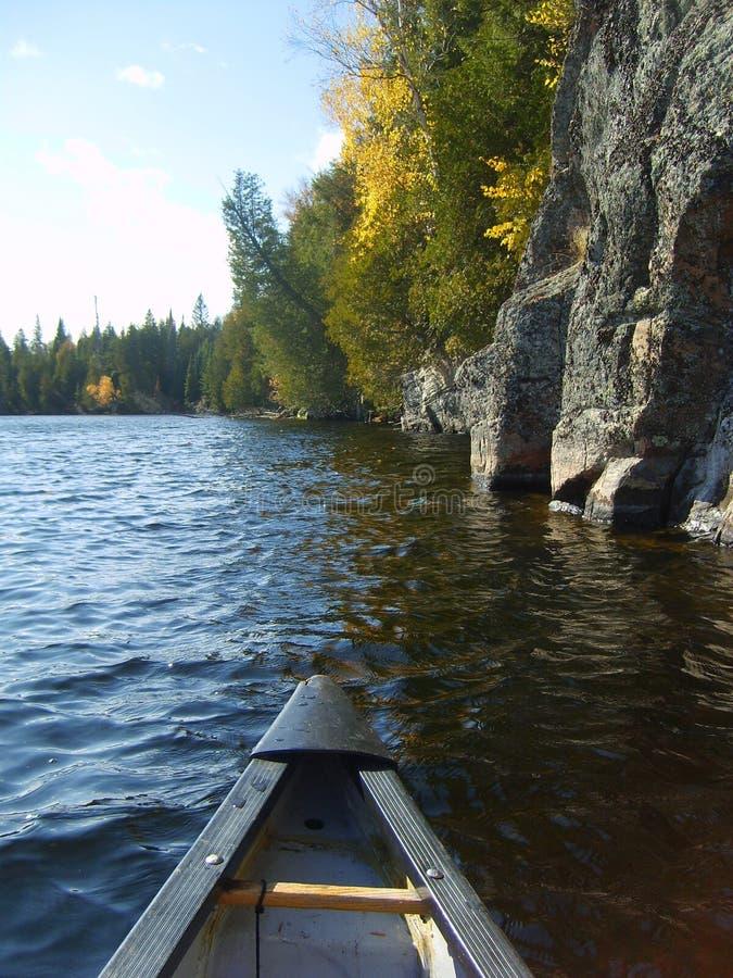 voyage de canoë photographie stock libre de droits