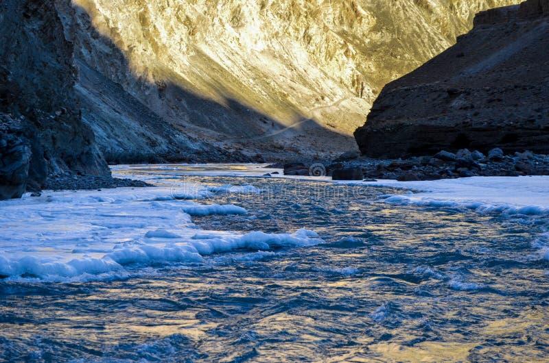 Voyage de Chadar photos libres de droits