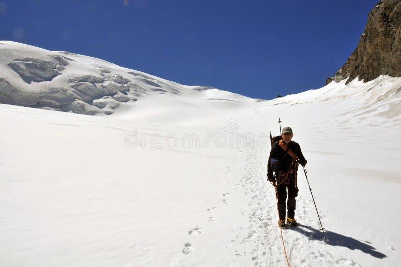 Voyage de glacier images stock