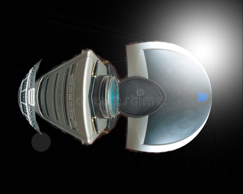 Voyage de l'espace de l'Eao photos stock