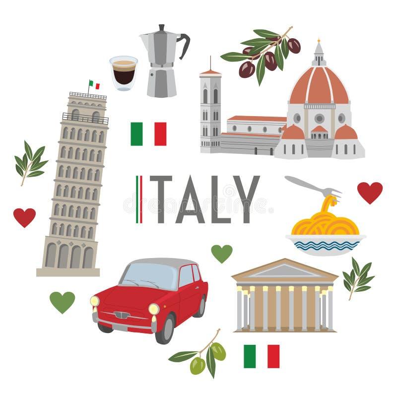 Voyage 2 de l'Italie images libres de droits